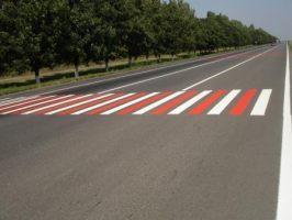 Дорожная разметка дорожной краской, м2