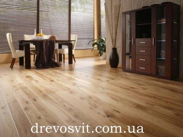Фото  1 Деревяна дошка для підлоги. Сосна 1-го сорту. Розміри 125*35, довжина 4,5м. Шпунтована, суха. Доставка. 1859153