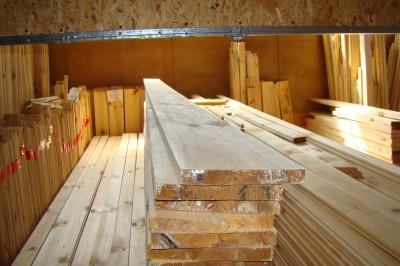 Доска для пола, сосна, 32мм х 130мм х 4.5м, цена за метр квадратный
