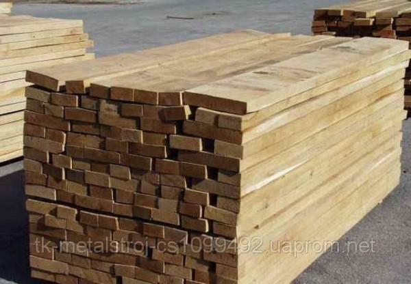 Доска необрезная строительная 25 30 40 50