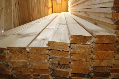 Доска пола сосна.22мм х 100мм длина 2м 4м 4.5м Цена за квадратный метр.
