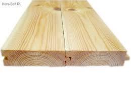 Доска пола цельная, сосна 1 сорт (длина 3 - 4 м, ширина 80 - 130мм)