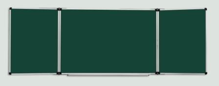 Доска школьная для мела/комбинированная для мела и маркера