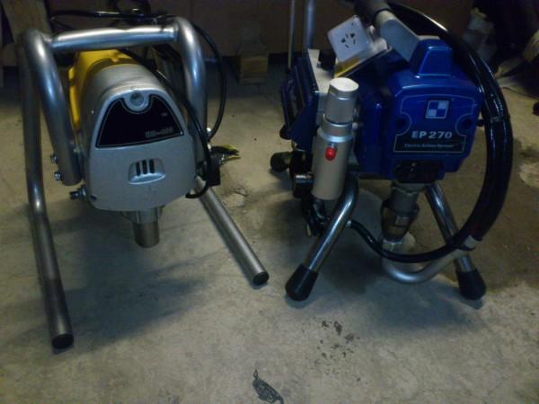Доступные окрасочные агрегаты высокого давления с высококачественными поршневыми насосами