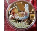 Фото  1 Дрофа монета 2 грн 2013 птица фауна Дрохва 1878866