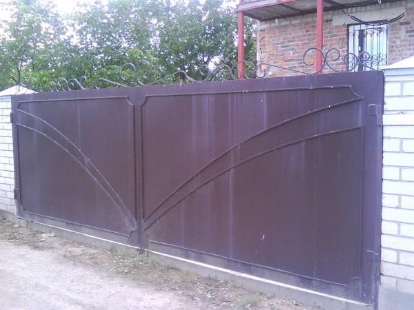 поставить металлические ворота в москве