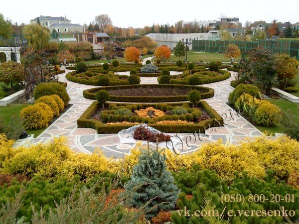 Ландшафтный дизайн, благоустройство территории, озеленение участка Киев и область