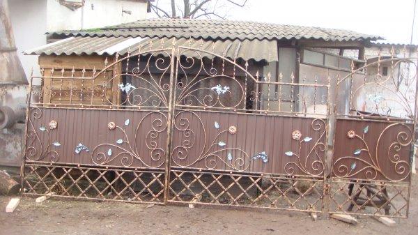 Фото 1 готові Ворота металлические кованые готовые .ворота металеві ковані 336337