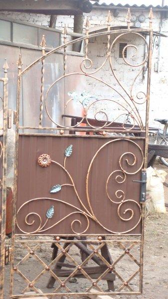 Фото 3 готові Ворота металлические кованые готовые .ворота металеві ковані 336337