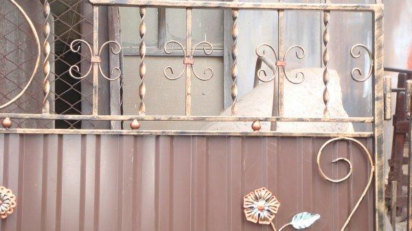 Фото 5 готові Ворота металлические кованые готовые .ворота металеві ковані 336337