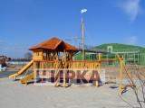 Детская площадка в виде корабля