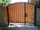 Фото 3 Ворота с элементами ковки 332111