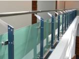 Ограждения из стекла для атриума, балкона, террасы, перила из нержавейки