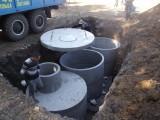 Устройство септиков из бетонных колец