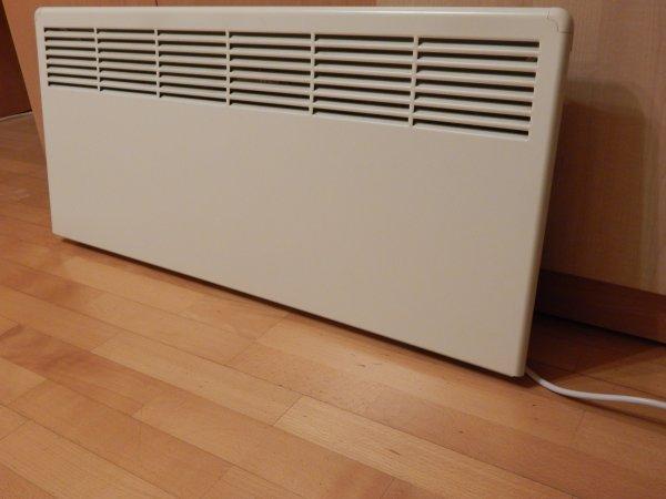 Фото  1 Конвектор электрический Beta Ensto 250Вт, механический термостат (Финляндия) 857594