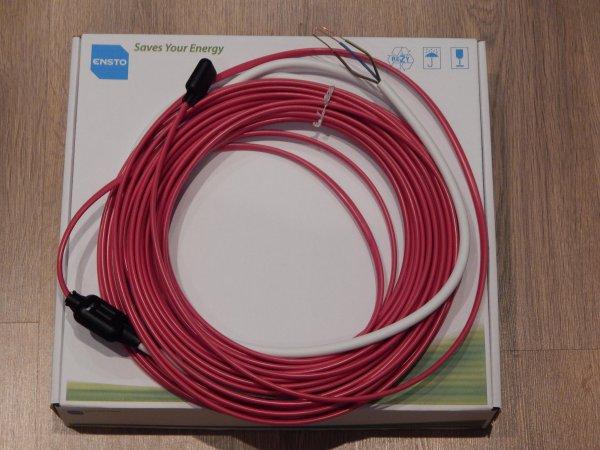 Фото  1 Нагревательный кабель в стяжку 150Вт, 7м,TASSU1, Ensto (Финляндия) 1851035