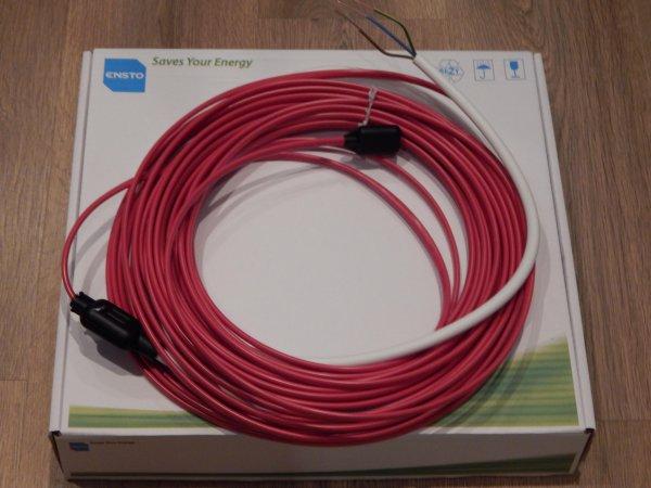 Фото  1 Нагревательный кабель двужильный 1800Вт, 86м,TASSU1800W86M, Ensto (Финляндия) 1851043