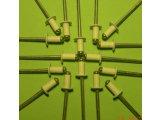 Фото 4 Фарбовані витяжні заклепки для кріплення профнастилу 302663