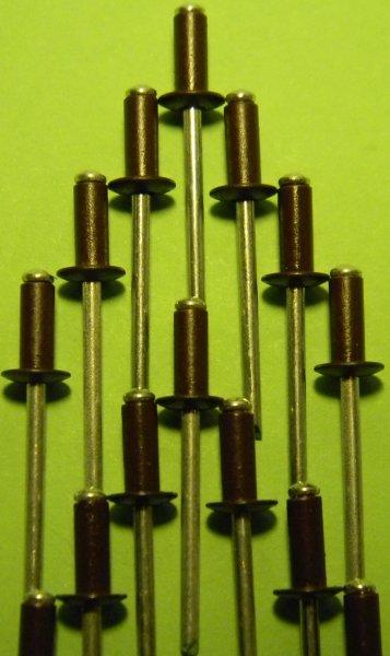Фото 2 Фарбовані витяжні заклепки для кріплення профнастилу 302663