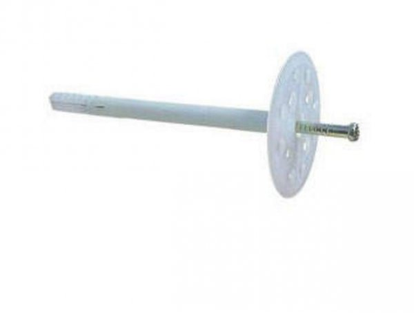 Фото  1 Дюбель для теплоизоляции с металлическим стержнем 10х180 1811328
