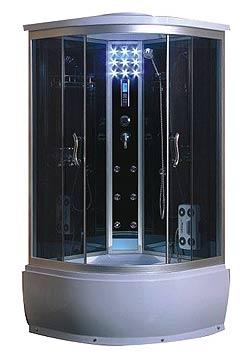 Душевой бокс Atlantis AKL 1100 P (100*100*220), гл. под.
