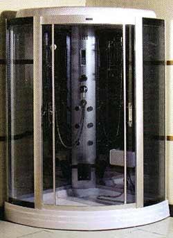 Душевой бокс Atlantis AKL 903 (118*118*215), мел. под.