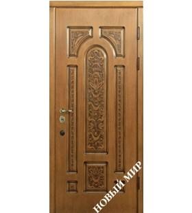 Дверь бронированная Русь М-7.3 Vinorit (уличное покрытие)(Украина)