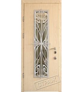 Дверь бронированная Цезарь Vinorit 22 (уличное покрытие) (Украина)