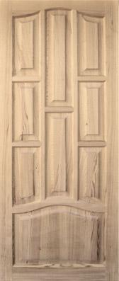 Дверь деревянная глухая М1/7 Высший сорт (высота - 2000 мм; ширина - 600, 700, 800, 900; толщина - 40 мм)