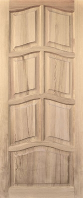 Дверь деревянная глухая М2 Высший сорт (высота - 2000 мм; ширина - 600, 700, 800, 900; толщина - 40 мм)