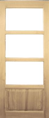 Дверь деревянная глухая М22 Высший сорт (высота - 2000 мм; ширина - 600, 700, 800, 900; толщина - 40 мм)
