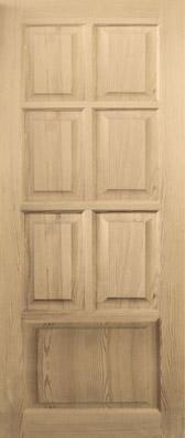 Дверь деревянная глухая М4 Высший сорт (высота - 2000 мм; ширина - 600, 700, 800, 900; толщина - 40 мм)