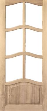 Дверь деревянная под стекло М2/1 Высший сорт (высота - 2000 мм; ширина - 600, 700, 800, 900; толщина - 40 мм)