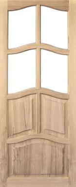 Дверь деревянная под стекло М2/2 Высший сорт (высота - 2000 мм; ширина - 600, 700, 800, 900; толщина - 40 мм)