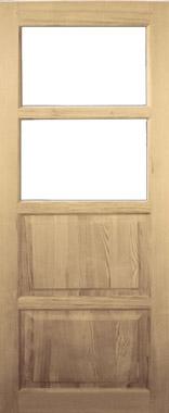 Дверь деревянная под стекло М22/1 Высший сорт (высота - 2000 мм; ширина - 600, 700, 800, 900; толщина - 40 мм)