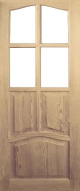 Дверь деревянная под стекло М3/2 Высший сорт (высота - 2000 мм; ширина - 600, 700, 800, 900; толщина - 40 мм)