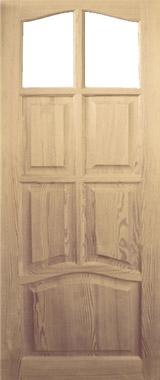 Дверь деревянная под стекло М3/3 Высший сорт (высота - 2000 мм; ширина - 600, 700, 800, 900; толщина - 40 мм)