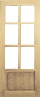 Дверь деревянная под стекло М4/1 Высший сорт (высота - 2000 мм; ширина - 600, 700, 800, 900; толщина - 40 мм)
