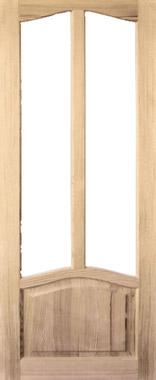 Дверь деревянная под стекло М5/1 Высший сорт (высота - 2000 мм; ширина - 600, 700, 800, 900; толщина - 40 мм)