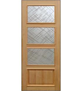 Дверь деревянная, Тетра сосновая под покраску (1 сорт) (Украина)