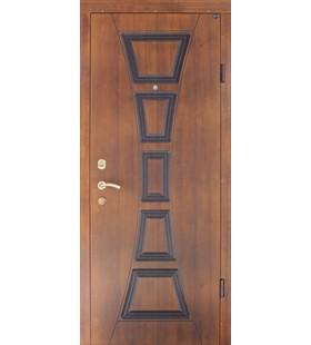 Дверь Филадельфия стальная с МДФ накладками