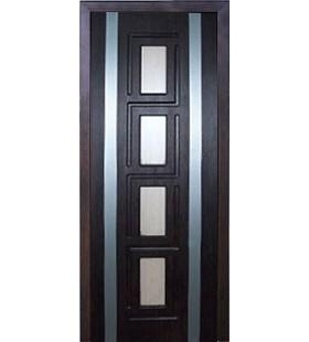 Дверь МДФ, ламинированная ПВХ пленкой Рим тик (Украина)