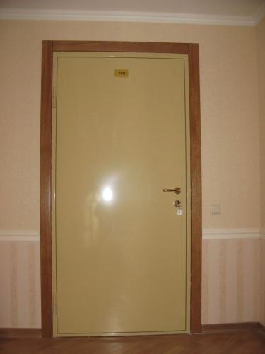 Дверь металлическая огнестойкая EI 60. Объект Верховна рада