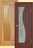 Дверь межкомнатная Анталия (глухая. мод.16) —Терминус (каштан, белый дуб, венге) Киев.