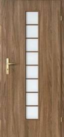 Дверь межкомнатная Porta Decor, лесенка- дверь межкомнатная, ламинированная со стеклом. Скидка на складские запасы - 40%