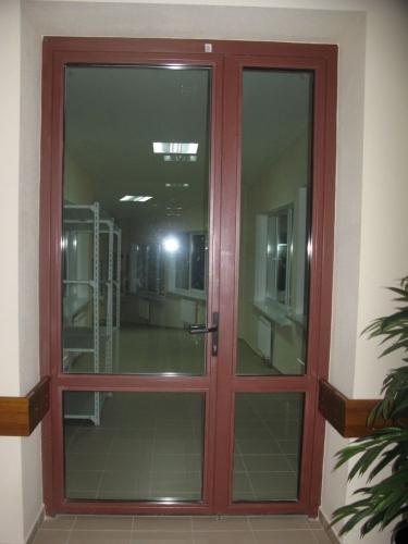 Дверь остекленная огнестойкая EI 30 Объект Феофания