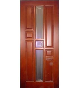 Дверь Рубин деревянная, сосна крашенная (10 цветов на выбор) высший сорт (Украина)