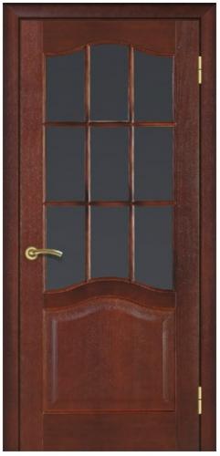 Дверь шпон Модель 03 (60,70,80,90) стекло (шт. )
