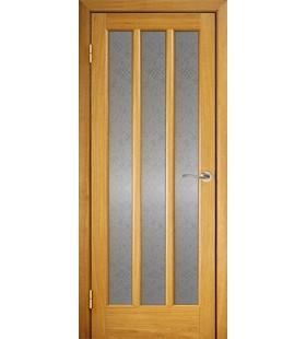 Дверь шпонированная Трояна светлый дуб