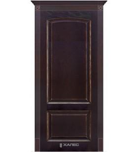 Дверь шпонированная Верона черный абрикос с серебром (Белоруссия)